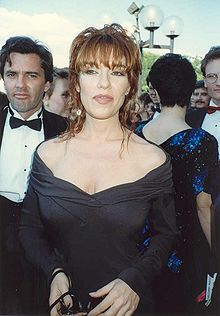 Katey Sagal at the 41st Emmy Awards 9/17/89.