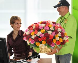 Доставка цветов – быстрый способ подарить хорошее настроение