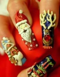 Не грызите ногти - лучше раскрасьте их!