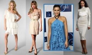 Как зрительно увеличить грудь в платье