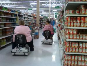 Супермаркеты сделали ставку на ожирение